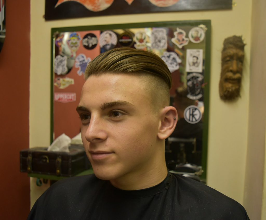 1920s slick back undercut by The Heavyweight