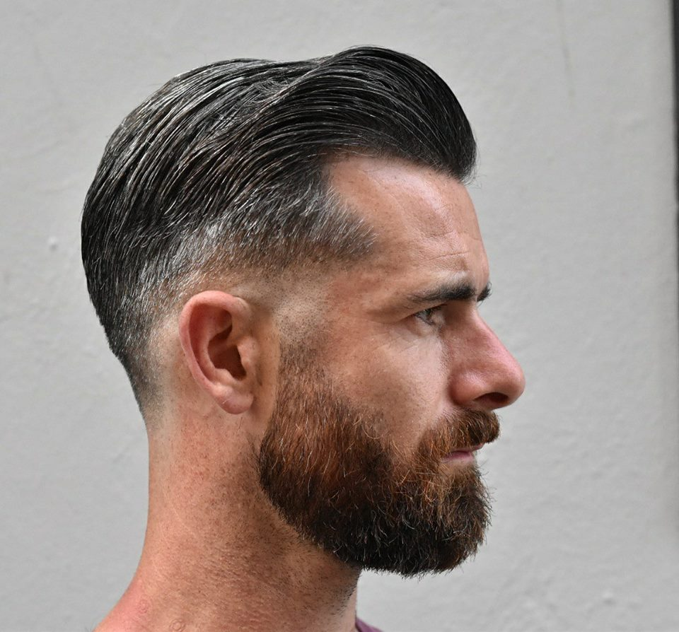 Low fade classic by Del Toro
