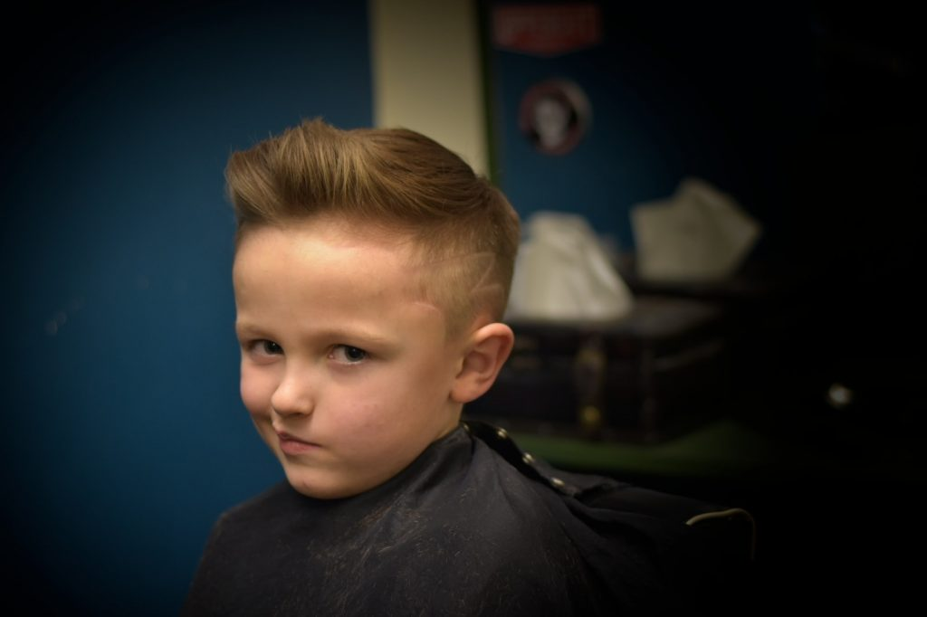 Haircut by our man Joseph Garside
