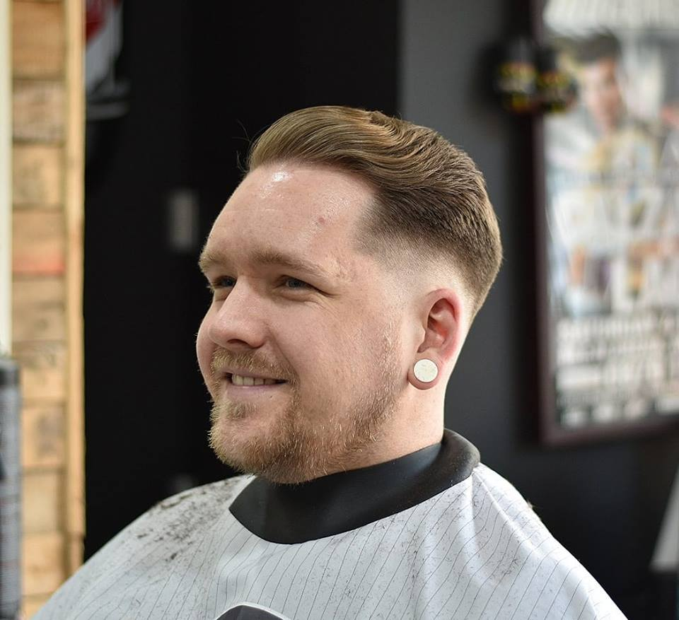 "Barbers in Wales - Haircut by Sam ""Spic"""