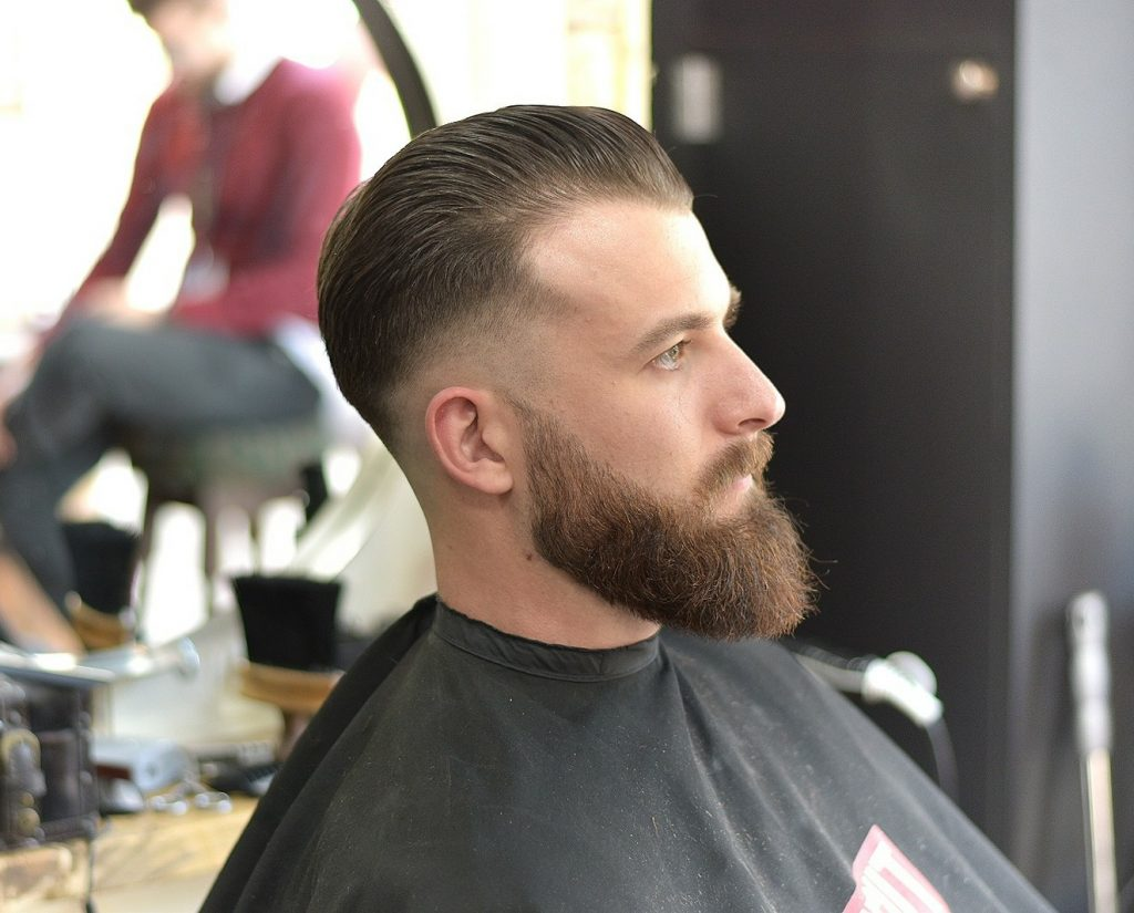 "Barbers in Wales - Haircut by Sam ""Spic"" Sarrionandia"